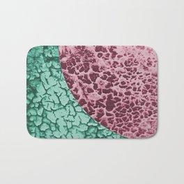 Crackle colour blocking Bath Mat