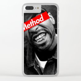 METHOD MAN WU TANG DESIGN Clear iPhone Case