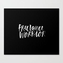 Freelance Warrior Canvas Print