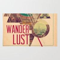 wanderlust Area & Throw Rugs featuring Wanderlust by Kristen Williams