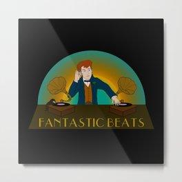 Fantastic Beats Metal Print