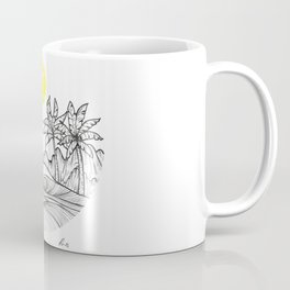 Yellow sun Coffee Mug