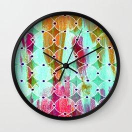 Moroccan Circles Wall Clock