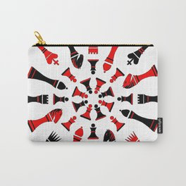 Red/Black Chessmen Carry-All Pouch