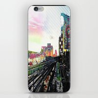 san diego iPhone & iPod Skins featuring San Diego  by Jennifer Silcott