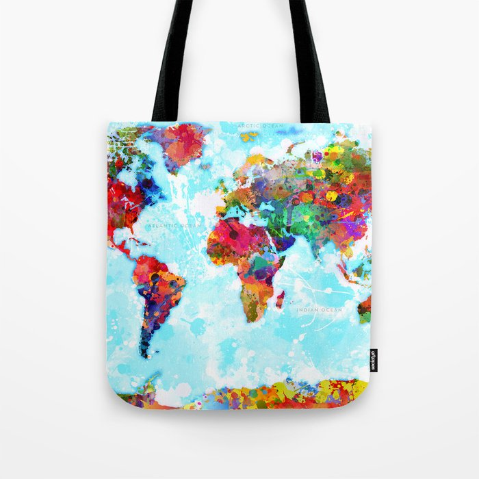 World Map - 2 Tote Bag