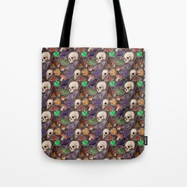 Spooky pattern Tote Bag