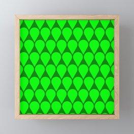 Location No. 1 -- Lime Framed Mini Art Print