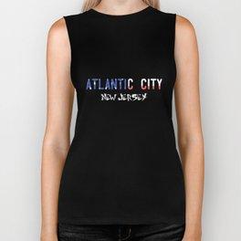 Atlantic City New Jersey Biker Tank