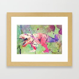 COLOUR ME DANGEROUS. Framed Art Print