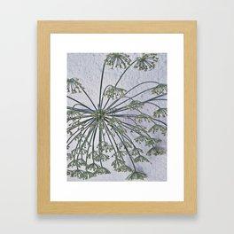 lets hang down Framed Art Print