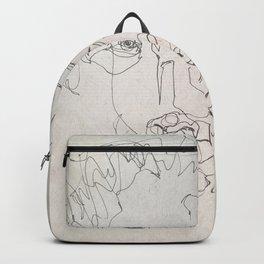 Blind Contour Backpack