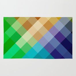 Rainbow of colors 2 Rug