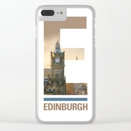 E-dinburgh Clear iPhone Case
