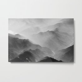 I love you like a mountain Metal Print