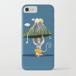 Hanuman & The Mountain iPhone Case