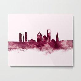 Riyadh Skyline Metal Print