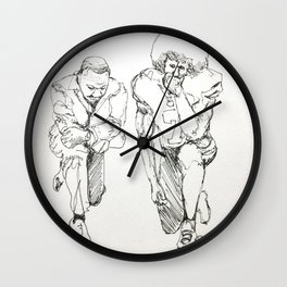 Resistance Wall Clock