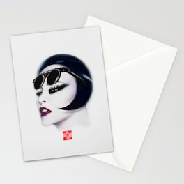 Retro Muse / 5 Stationery Cards