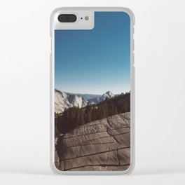 Olmsted Point, Yosemite National Park V Clear iPhone Case