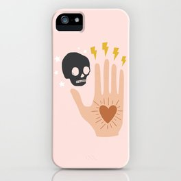 In Their Hands iPhone Case