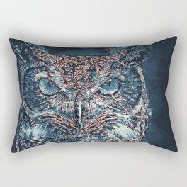 The Night Owl Rectangular Pillow