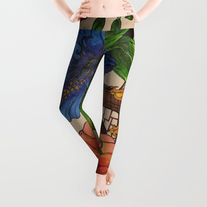 BACKYARD BEAUTY Leggings