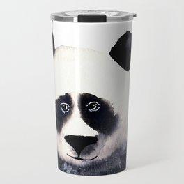Watercolor Panda Bear Travel Mug