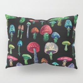 mushrooms at nigth Pillow Sham