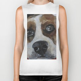 Dog, beagle, animal Biker Tank