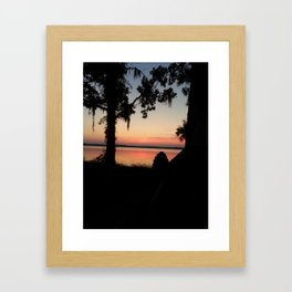 Just Another Day in Paradise Framed Art Print