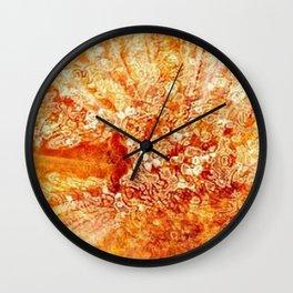 Fire Serpent Wall Clock
