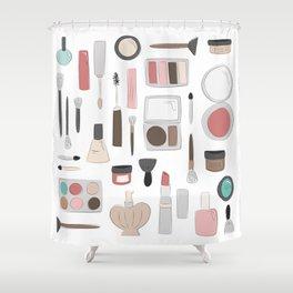 Let's Makeup Shower Curtain