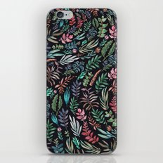 water color garden at nigth iPhone & iPod Skin