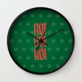 hohoho Wall Clock