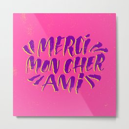 Mercy Moan Share Amy Metal Print