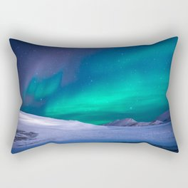 Aurora Borealis 1 Rectangular Pillow
