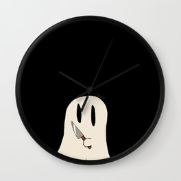 Knife Ghost Wall Clock