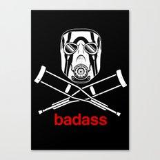 Badass - The Video Game Canvas Print