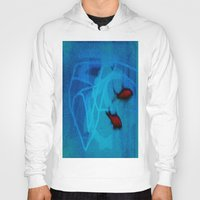 ships Hoodies featuring FISH&SHIPS by lucborell