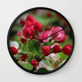 About To Open Wide Wall Clock