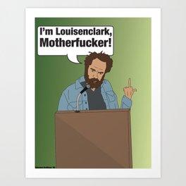 Louisenclark Art Print