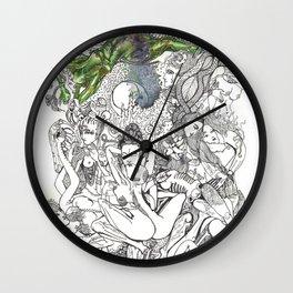 Yab Yum Mahaasukha Wall Clock