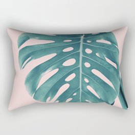 Monstera Delight #3 #tropical #decor #art #society6 Rectangular Pillow