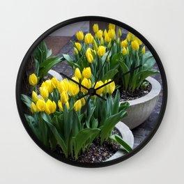flower_1 Wall Clock