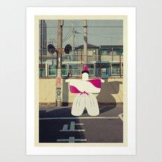 postcard from japan: kyoto#1 Art Print