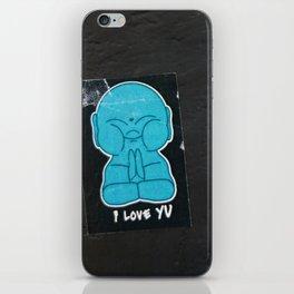 U R Buddhaful iPhone Skin