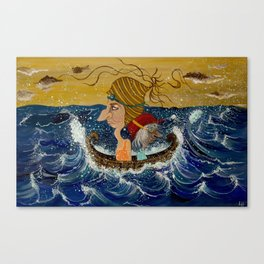 Weary Voyage Canvas Print