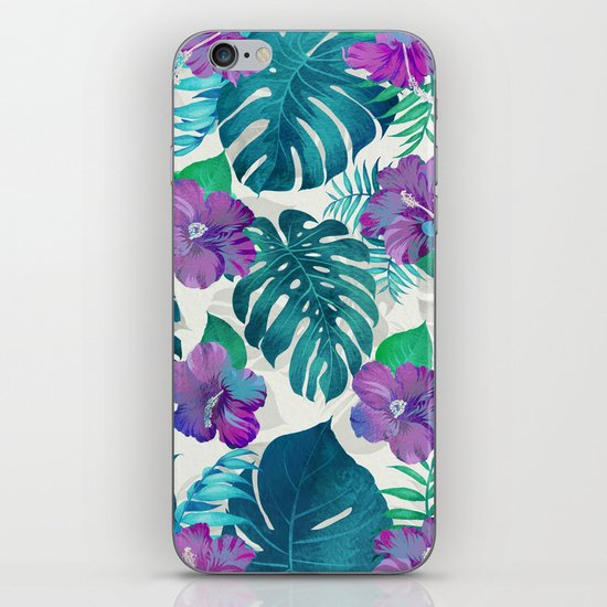 My Tropical Garden 20 iPhone Skin