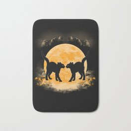 Black Cats Paradise Bath Mat